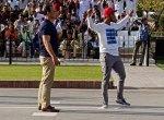 இந்திய வீரர்களின் அணிவகுப்பைக் கிண்டல் செய்த பாக். கிரிக்கெட் வீரர்..!