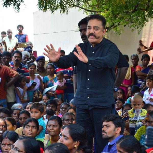 'மக்களின் குரல் தமிழக அரசுக்கு கேட்கவில்லை' - ஸ்டெர்லைட் போராட்டத்தில் கமல்ஹாசன்!