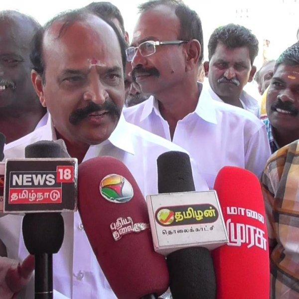 ` வைகோ மீதான தாக்குதல் கண்டிக்கத்தக்கது! ' - கடுகடுத்த  கடம்பூர் ராஜூ