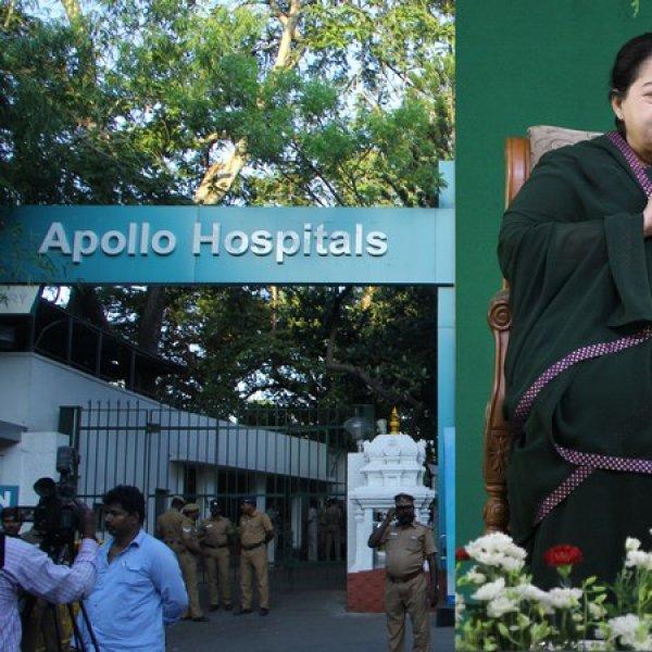 'ஜெயலலிதாவின் ரத்த மாதிரிகள் எங்களிடம் இல்லை'- உயர்நீதிமன்றத்தில் அப்போலோ அதிர்ச்சி பதில்