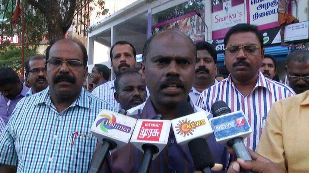 ஜாக்டோ ஜியோ ஒருங்கிணைப்பாளர் தியாகராஜன்