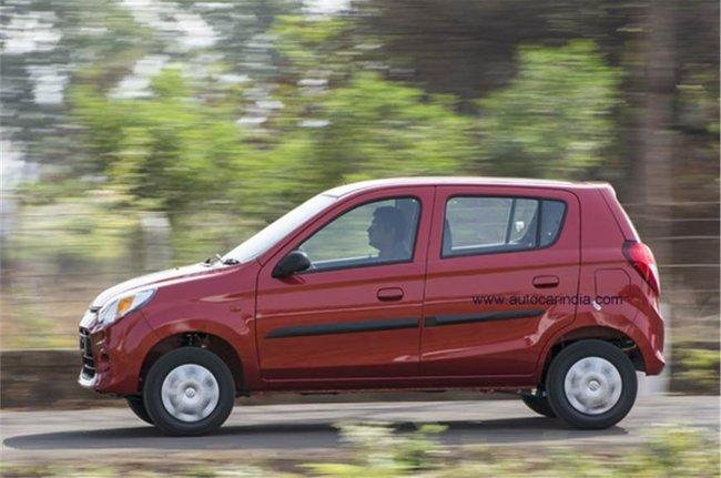 alto 800 ride and handling