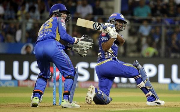 Lewis Plays a shot  #MIvRR