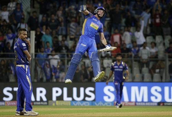 Jos Butler Celebrates after RR win  #MIvRR