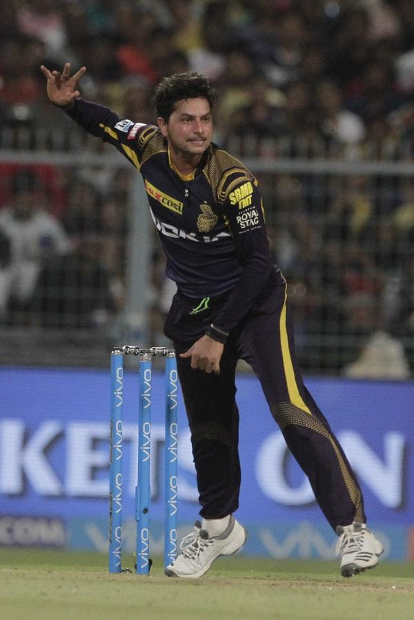 Kuldeep strikes for KKR