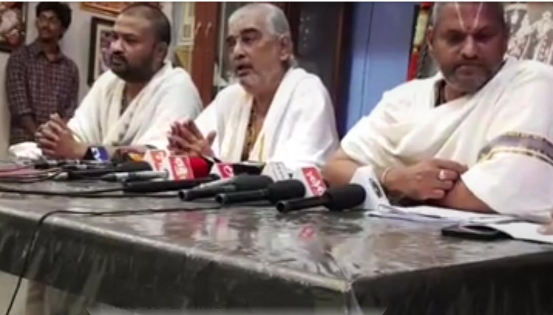 திருமலை முதன்மை அர்ச்சகர் ரமண தீட்சிதர்