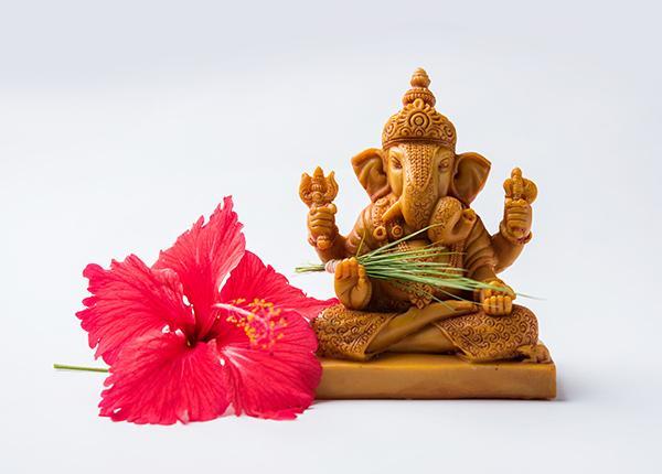 பூஜையில் கணபதி