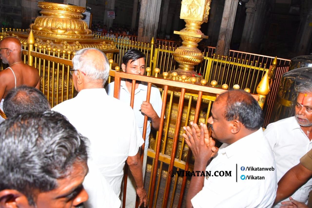 ஸ்ரீரங்கம் கோயிலில் குமாரசாமி