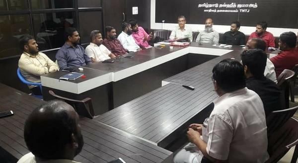 தவ்ஹீத் ஜமாத் உயர்நிலைக்குழு கூட்டம்