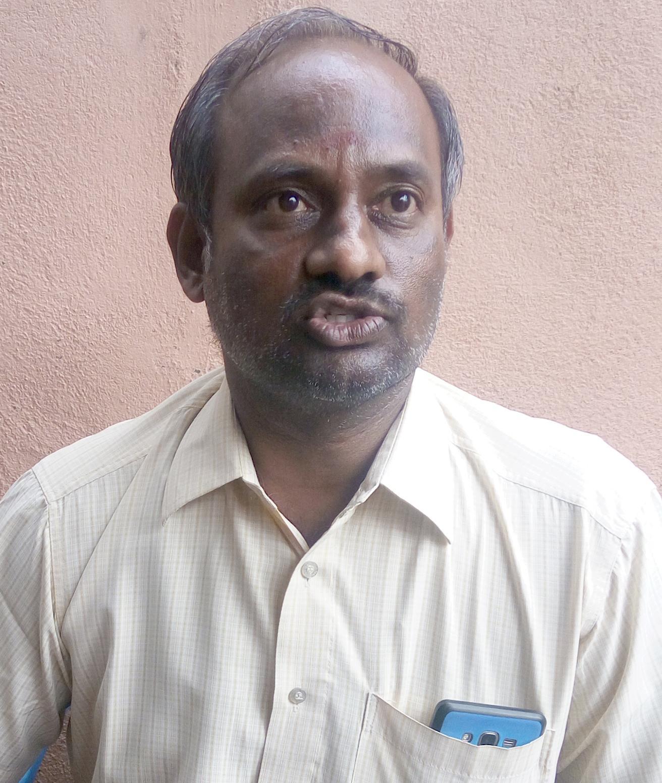 சமூக ஆர்வலர் ராமமூர்த்தி