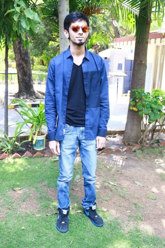 Anirudh in Jeans