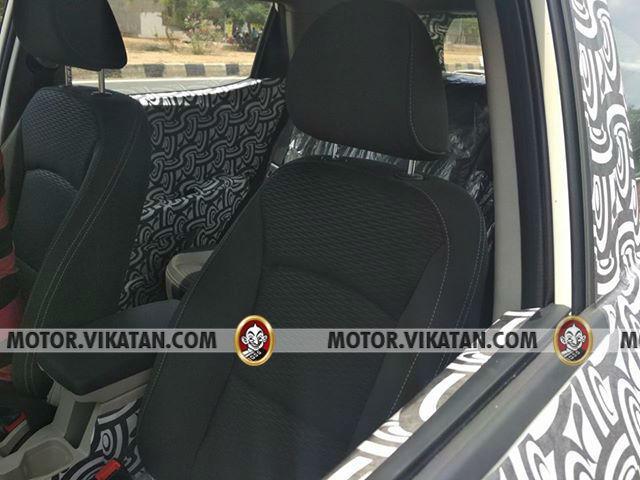 Mahindra S201 Seats