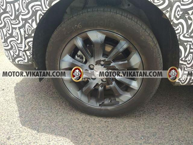 Mahindra S201 Alloy Wheels