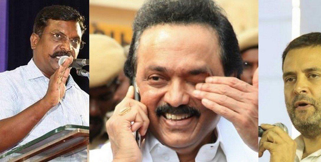 'ஸ்டாலின் மீது ஏன் பாய்ந்தார் விஜயகாந்த்?' - ராகுல், திருமாவளவன் சந்திப்பு பின்னணி