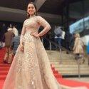 தீபிகாவின் பிரின்டட் கவுன், ஹூமா குரேஷின் மெட்டல் ஆடை..கேன்ஸில் அசத்தும் நடிகைகள்! #Cannes2018