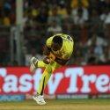 `பிராவோ அசத்தல் கேட்ச்; பௌலர்களின் கன்ஸிஸ்டன்ஸி!' - ஹைதராபாத்தை 139 ரன்களில் சுருட்டிய சென்னை