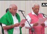 சர்ச்சைகளுக்கு மத்தியில் கர்நாடகாவின் 23 வது முதல்வராகப் பதவியேற்றார் எடியூரப்பா..!