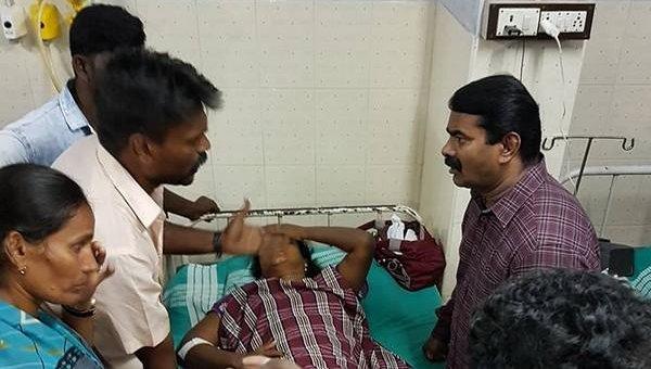 'வதந்தி பரப்புவதே அரசாங்கம்தான்!' - ஸ்டெர்லைட் விவகாரத்தில் கொதிக்கும் சீமான்