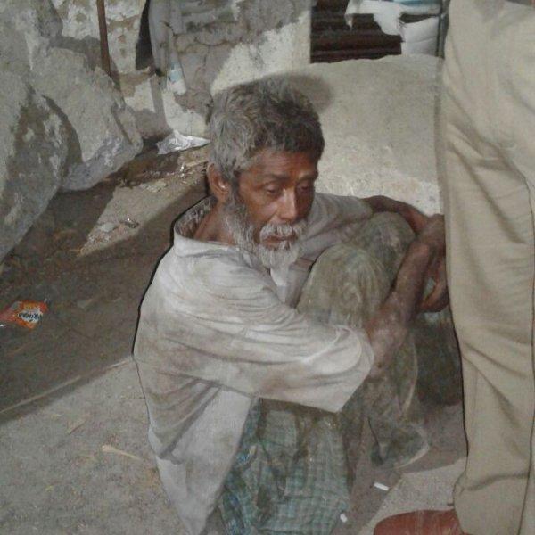 சென்னையில் மூன்று நாள் அநாதையாகக் கிடந்தவருக்குக் கிடைத்த சர்ப்ரைஸ்!