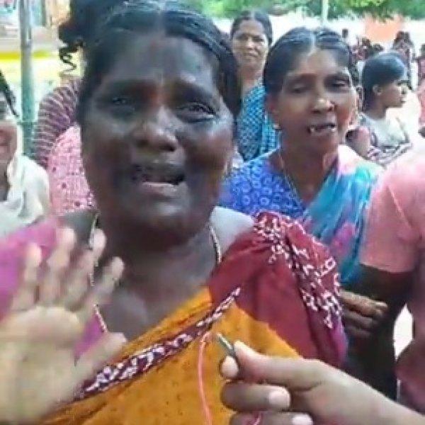 """``போலீஸைப் பார்த்தாலே கோபமும் பயமுமா இருக்கு!"""" - கொதிக்கும் திரேஸ்புரம் பெண்கள்! #Thoothukudi"""