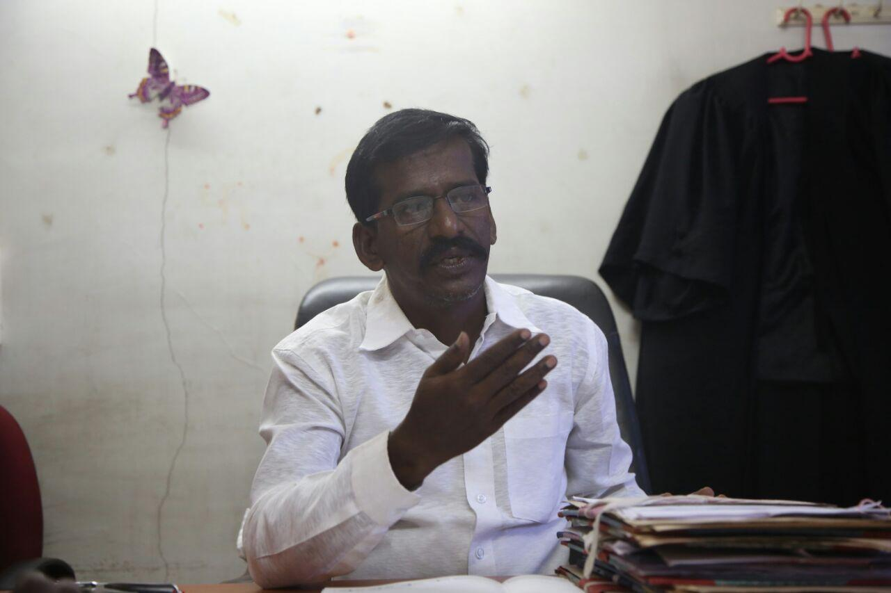 வழக்கறிஞர் விஸ்வராஜூ