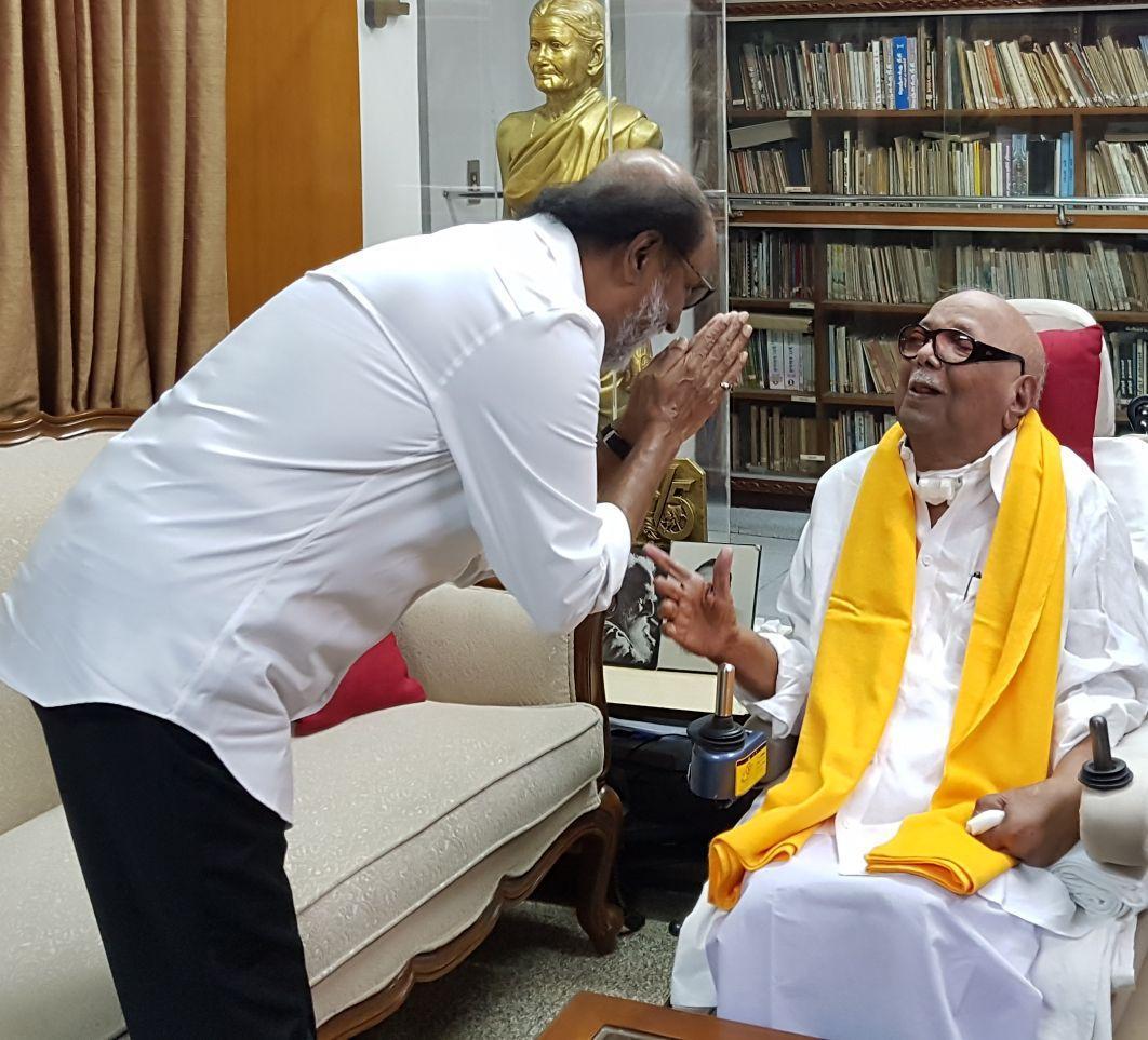 கருணாநிதி - ரஜினி