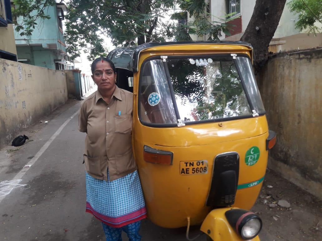 ஆட்டோ ஓட்டுநர் ராஜீ அசோக்