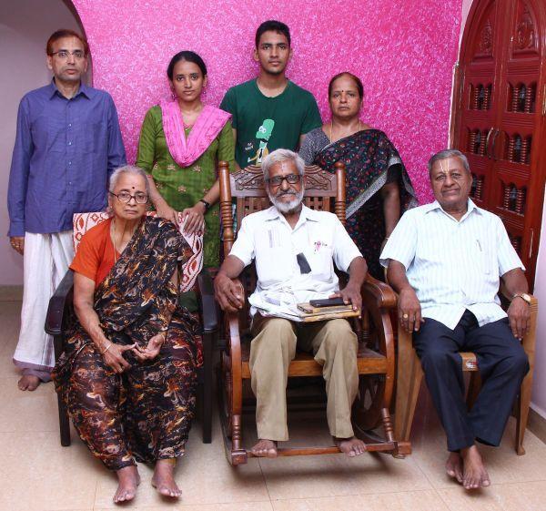டிராஃபிக் ராமசாமி குடும்பத்தினரோடு