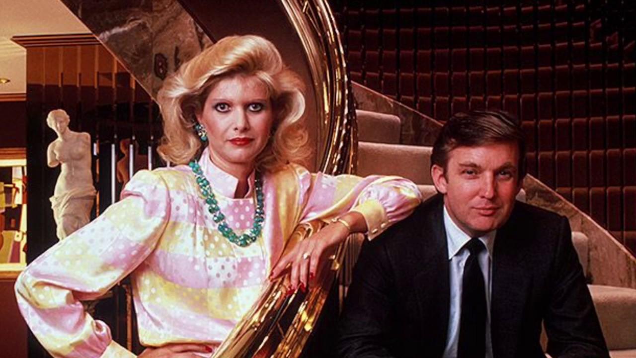 trump with ivana