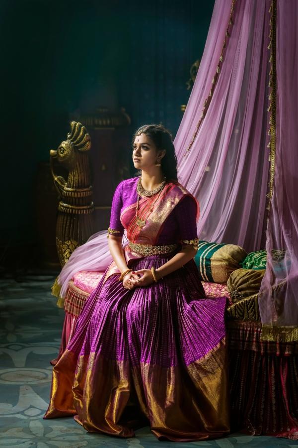 Keerthy suresh for Maya Bazaar scene