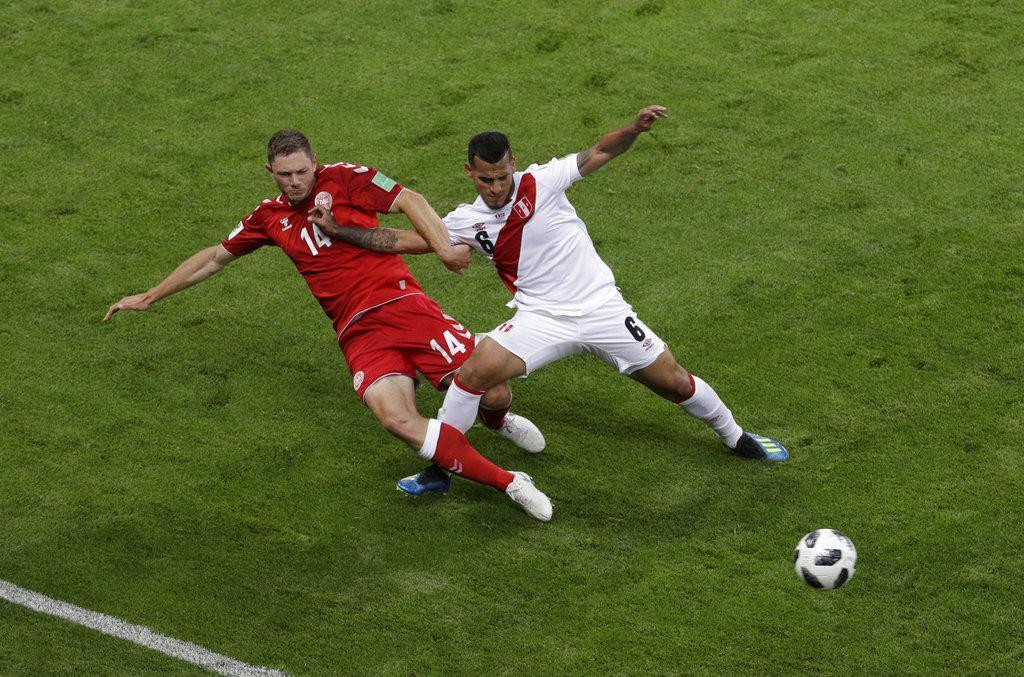 Peru Denmark Worldcup