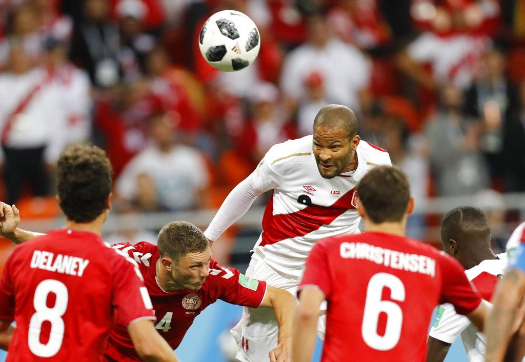Peru Denmark உலகக்கோப்பை கால்பந்து