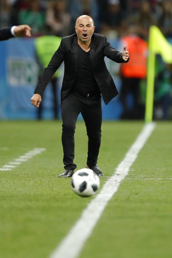 Coach Sampaoli   #ARGCRO