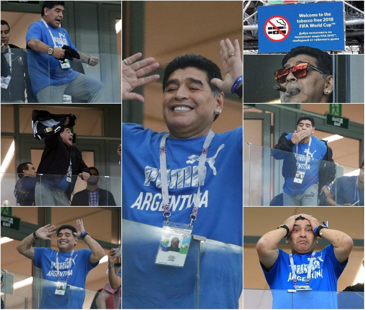 Diego Maradona  #ARGCRO