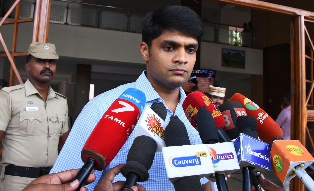 தூத்துக்குடி மாவட்ட ஆட்சியர் சந்தீப் நந்தூரி