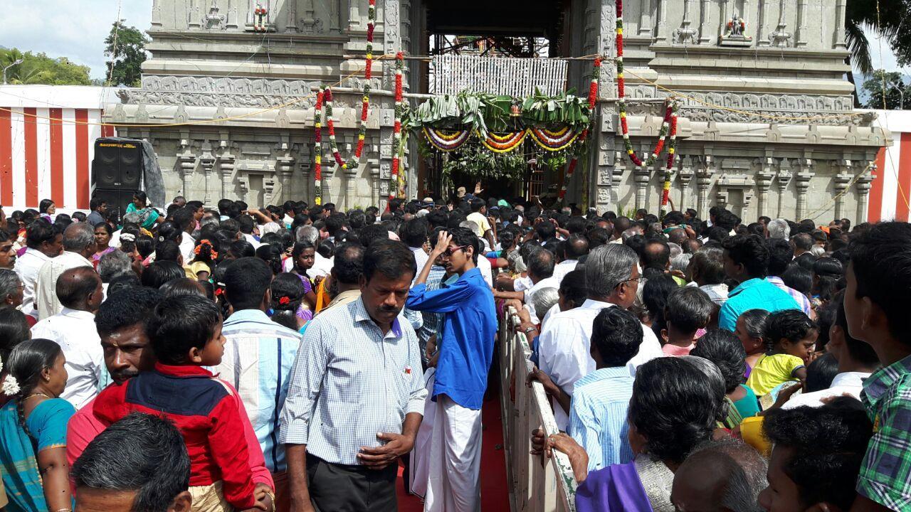பெரியகுளம் பெரியகோயிலில் கும்பாபிஷேகம்