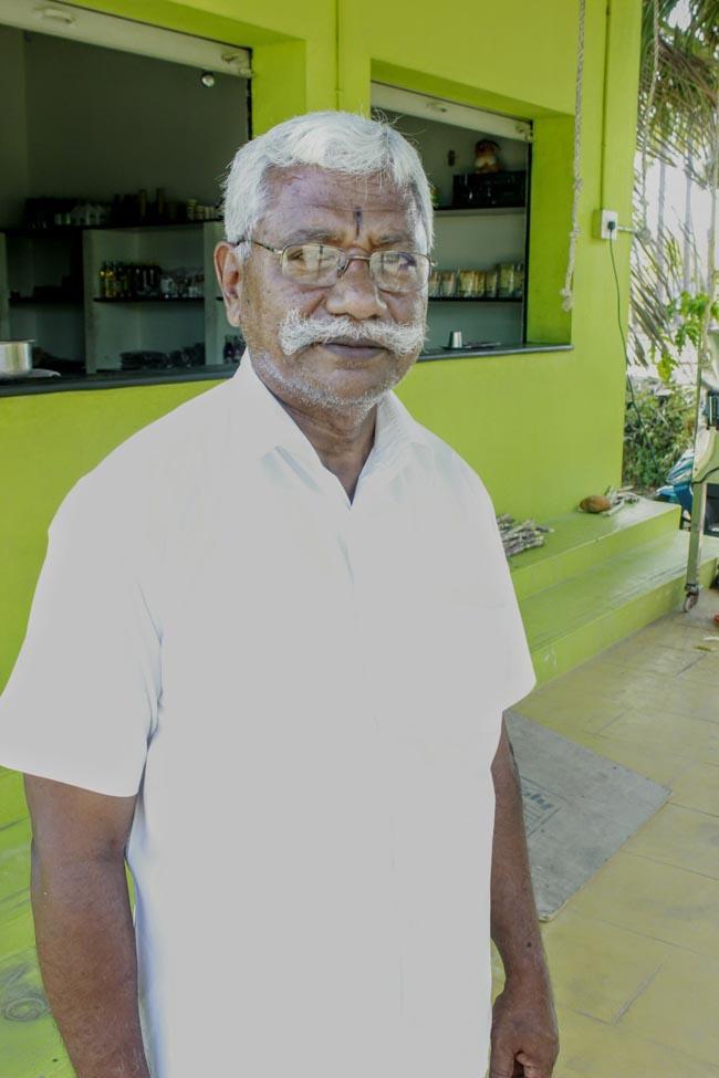 இயற்கை ஆர்வலர் ராதாகிருஷ்ணன்