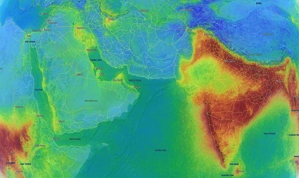 செயற்கைக்கோள் புகைப்படம்