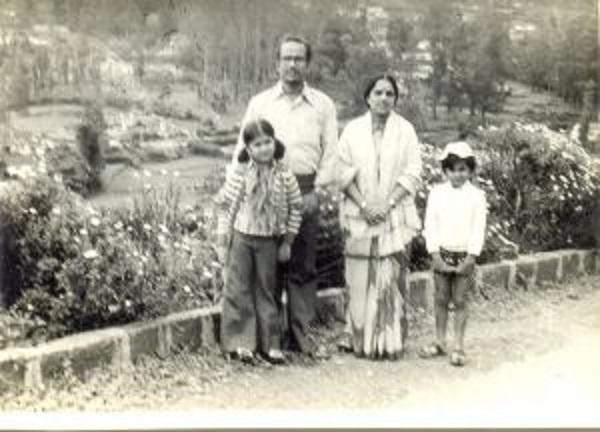 அனுராதா ஸ்ரீராம் குடும்பத்தினர்