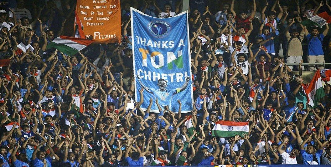24 நிமிடத்தில் 3 கோல்... சுனில் சேத்ரியின் 100 வது போட்டியில் கென்யாவை பந்தாடிய இந்தியா!