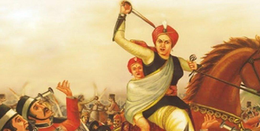 தன் பிணத்தைக்கூட பிரிட்டிஷ்காரர்களை தொடவிடாமல் செய்த 'ஜான்சி கி ராணி'! #RaniLaxmibai
