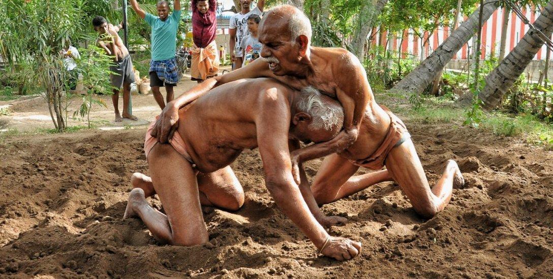 95 வயதில் குஸ்தி... இயற்கை ஜிம்மில் அசத்தும் அதிரடி 'இளைஞர்கள்'!