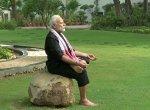 பஞ்சபூத உடற்பயிற்சி செய்து அசத்திய பிரதமர் மோடி; கர்நாடக முதல்வருக்கும் சவால்! #Video#FitnessChallenge