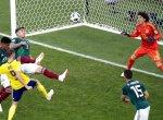 உலகக்கோப்பை: ஜெர்மனி தோல்வியால் அடுத்த சுற்றுக்குத் தகுதிபெற்ற மெக்ஸிகோ! #WorldCup