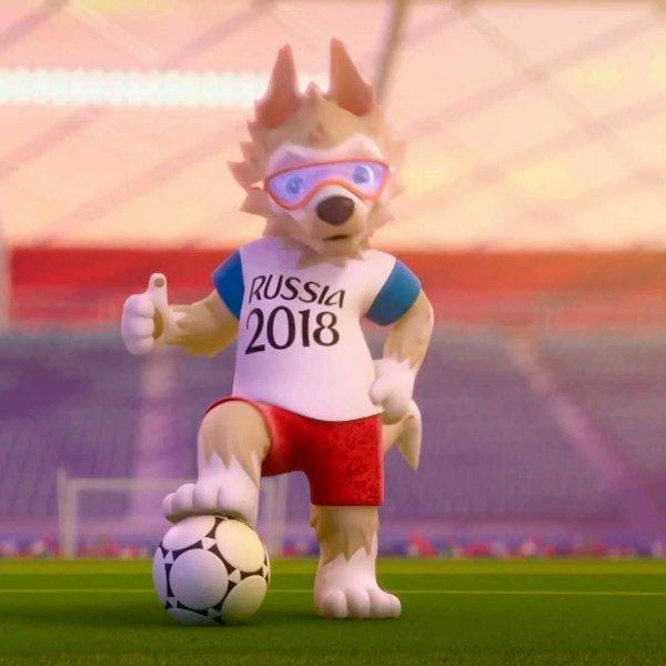 ஸபிவாக்கா எனும் ஓநாய்... 2018 கால்பந்து உலகக் கோப்பையின் மஸ்காட்!   #FifaWorldCup2018