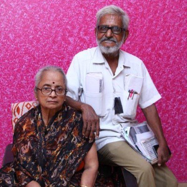 """``அவரோட வாழ ஆசைதான்... ஆனா, சொசைட்டி தடுக்குதே!"""" டிராஃபிக் ராமசாமி மனைவி #VikatanExclusive"""