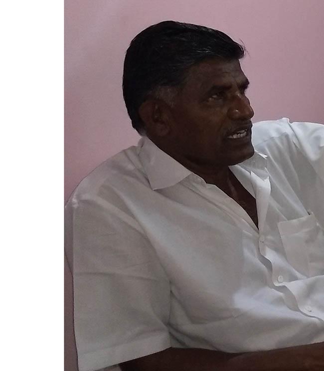 மாவட்டத் தலைவர் சின்னசாமி