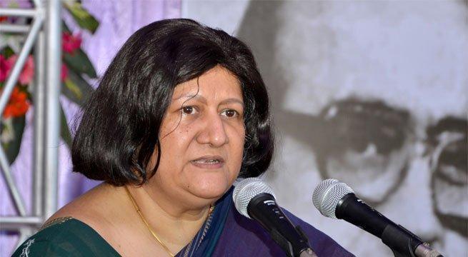 சென்னை உயர் நீதிமன்றத் தலைமை நீதிபதி இந்திரா  பானர்ஜி