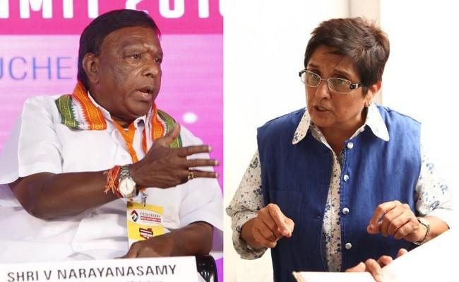 நாராயணசாமி-கிரண்பேடி