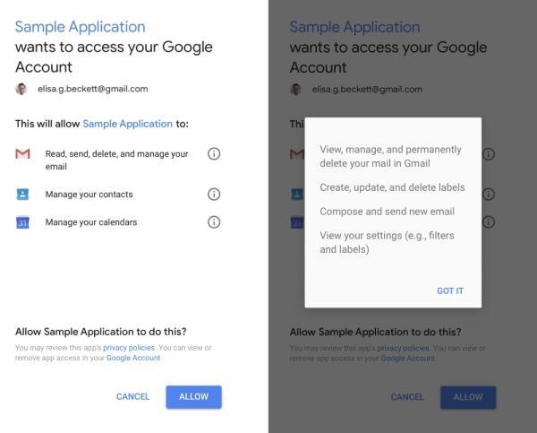 Google App Access